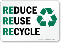 reuse-reduce-recycling-sign-s-4984